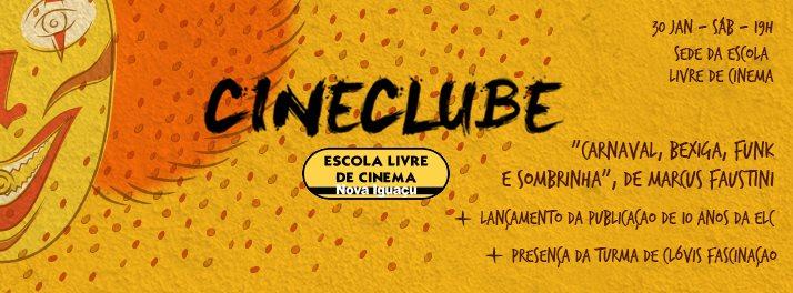 Cineclube da Escola Livre de Cinema de Nova Iguaçu acontece dia 30/1.