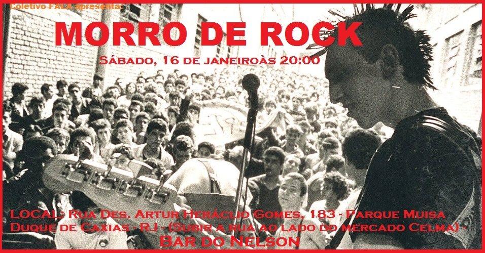 Morro de Rock acontece neste final de semana em Duque de Caxias.