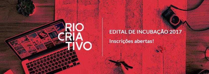 Rio Criativo abre edital de incubação de empreendimentoscriativos