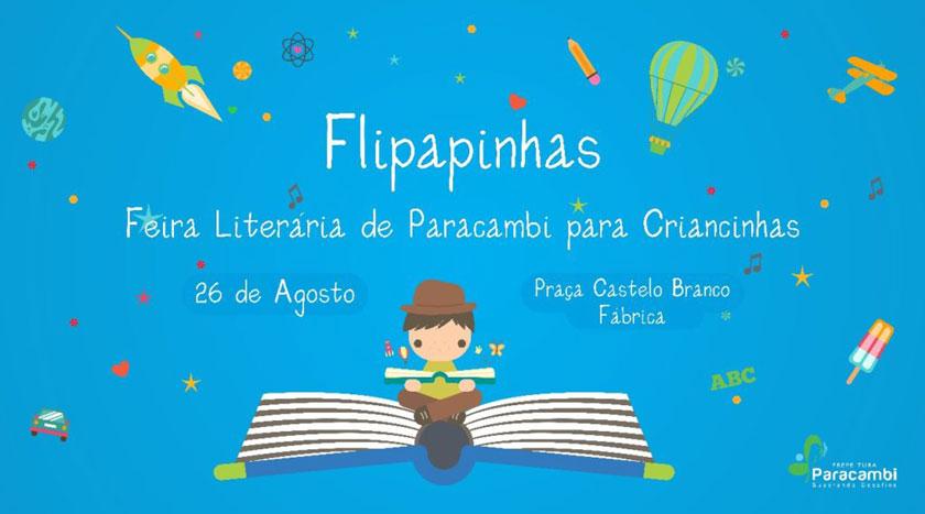 Flipapinhas: Paracambi terá Feira Literária paraCrianças
