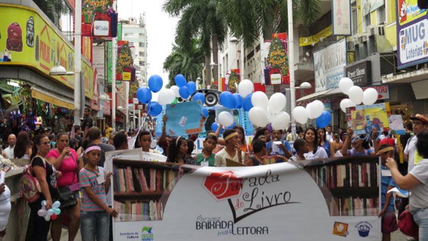 Parada do Livro acontece em NovaIguaçu