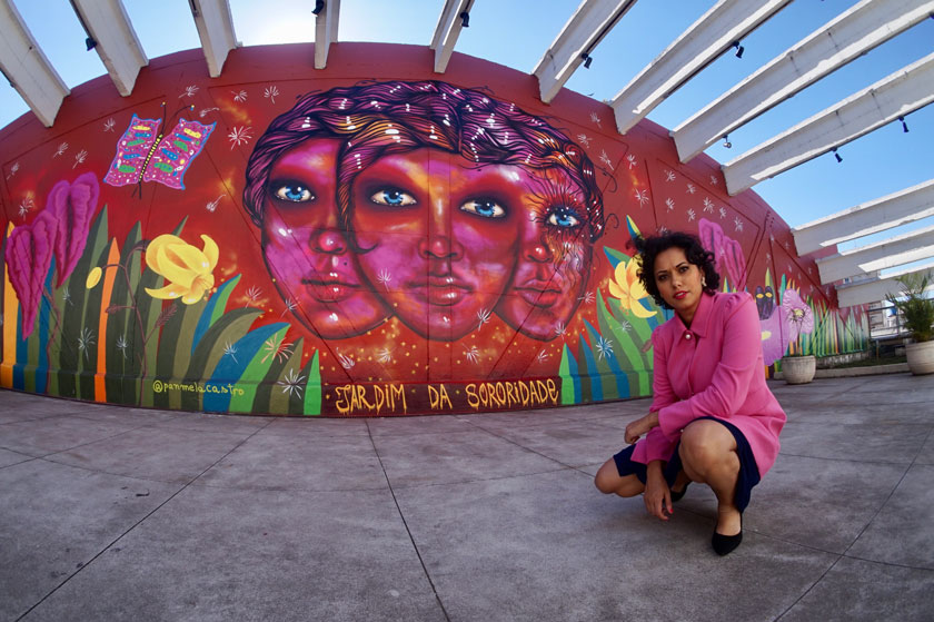 Panmela Castro e Yas Werneck participam do Hip HopConhecimento