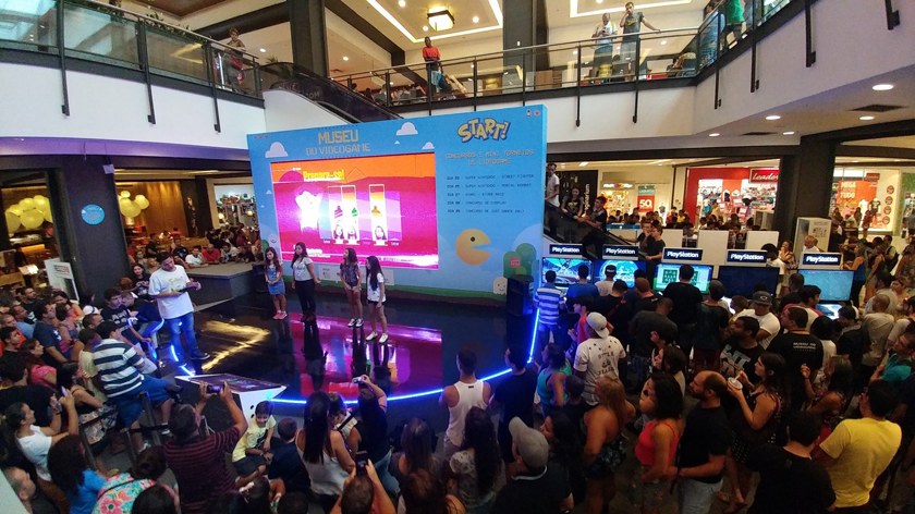 Museu do Videogame Itinerante - Inédito em Nova Iguaçu - Inaugura exposição interativa e gratuita no Shopping Nova Iguaçu.